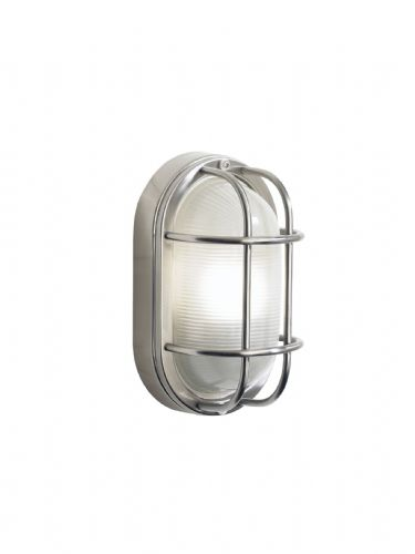 Salcombe 1-light Stainless Steel Outdoor Wall Light SAL5244 (082058)